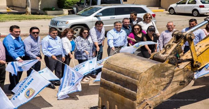 Inauguró el gobierno municipal obra de rehabilitación de la avenida Álvaro Obregón